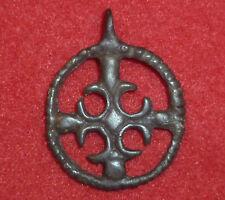 I Cavalieri Templari Croce Bronzo Antico amuleto/Ciondolo intorno al 1100 ad -3704 -