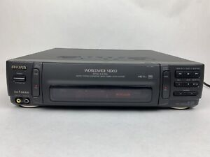 Aiwa HV-MX1SHR Universal Worldwide NTSC/PAL VCR Digital Converter W/ Remote