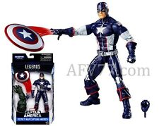 "Hasbro 2016 Marvel Legends 6"" Secret War CAPTAIN AMERICA Abomination BAF"