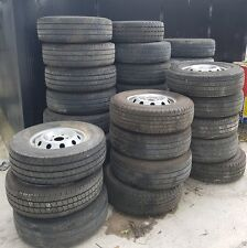 FIAT DUCATO 16in VAN TYRES AND RIMS LOADS TO CHOOSE FROM  225 75 16