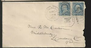 1898 San Francisco Ca Cover to Middleburg VA