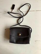 Vintage COACH Christie black leather crossbody bag