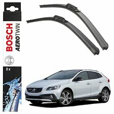 Bosch Aerotwin Front Wiper Blades Set fits Volvo V40 Cross country 01.13> A310S