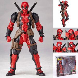 X-Men Action Figure Amazing Marvel Revoltech Toy Gift DEADPOOL Yamaguchi-style