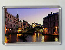 RIALTO BRIDGE VENICE LARGE FRIDGE MAGNET SOUVENIR ITALY