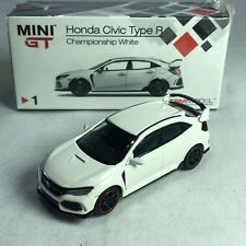 1/64 TSM MINI GT Honda Civic Type R Champion White FK8 RHD MGT00001R Available