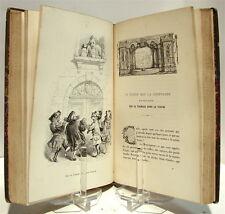 GRANDVILLE : Cent proverbes - 1845, relié