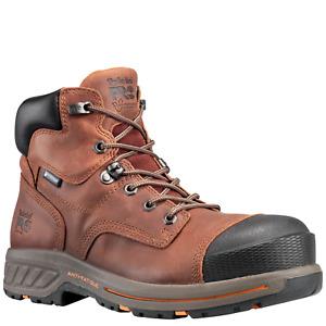 """Timberland PRO TB0A1KPF Helix HD 6"""" Soft Toe Work Boots"""
