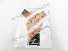 NEW TANK PAD STICKER / DECAL SUITABLE FOR KTM DUKE RC 200 390  #034 (CODE- 7765)