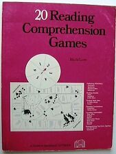 20 Reading Comprehension Games