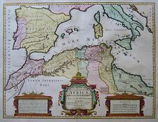 Africae Tabula Geographica - Nordafrika, Südeuropa, Mittelmeer - Delisle - 1780