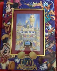 Disneyland 50th Anniversary 5x7 Collectible Disney Picture Frame
