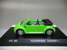 VOLKSWAGEN NEW BEETLE CABRIO CONCEPT 1 1994 DETAIL CARS 1:43