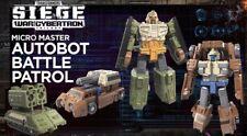 Transformers Generations Siege War For Cybertron Micro Masters Battle Patrol