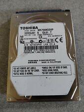 "Toshiba 750 GB,Internal,5400 RPM,2.5"" (MK7559GSXP) Hard Drive"