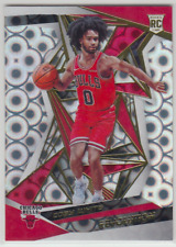 2019-20 Panini Revolution Chicago Bulls Coby White Groove Rookie RC #106