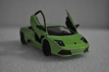 "5"" Kinsmart Lamborghini Murcielago LP640 Diecast Model Toy Car 1:36 Lime Green"