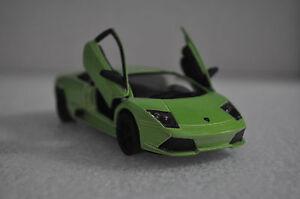 "5"" Kinsmart Lamborghini Murcielago LP640 Diecast Model Toy Car 1:36 Lime Green"