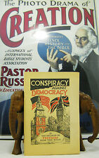 Conspiracy Against Democracy 1940 booklet Watchtower Rutherford Jehovah