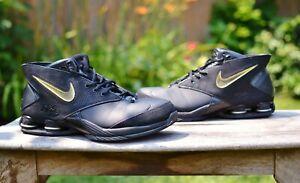 Nike Shox Flight MTX 2005 Black 312015-001 Men's 12 Sneakers Shoes Vince Carter