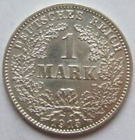 Top! 1 Mark 1915 G IN Uncirculated