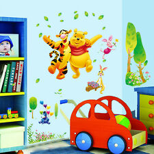 Winnie the Pooh Tigger Wall Sticker Mural Art Kids Room Decor Vinyl Decals Luzh
