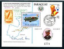 Paraguay MiNr. Block 382 postfrisch MNH Zeppelin (Zep4