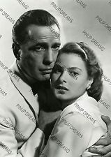 Vintage Photo Print of Movie Legends Humphrey Bogart & Ingrid Bergman Re-print