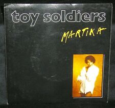 MARTIKA - TOY SOLDIERS - '89 OZ 1ST PRESS/PICTURE SLEEVE/CBS 6550497/EX+