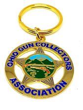 "Ohio  Gun Collectors Association  Keychain Collectable - Joaquin Jackson 1 1/2"""