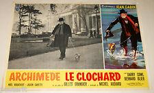 fotobusta originale ARCHIMEDE LE CLOCHARD Jean Gabin Gilles Grangier 1959 #5