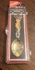 Vintage Collector Souvenir Ornate South Carolina Spoon