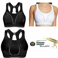 15d78df1d1 Shock Absorber Ultimate RUN Sports Bra White or Black S5044 Sizes 32-38 B-G