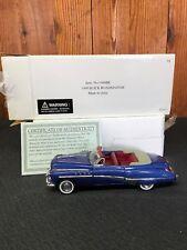 1949 Buick Roadmaster Convertible 1/32 Scale Diecast Blue Car Signature Models