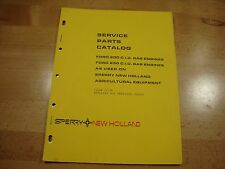 New Holland Sperry Ford 200 250 ci gas engine parts manual catalog 12-74