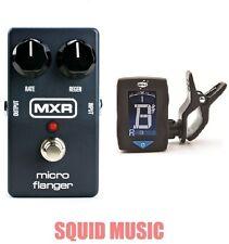 MXR Dunlop M-152 Micro Flanger Guitar Effects M152 ( FREE DUNLOP GUITAR TUNER )