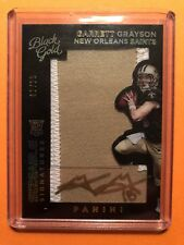 2015 Black Gold Garrett Grayson Rc Autograph Patch 2/25 Saints Colorado State Mt