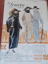 CATALOGUE ANCIEN AU LOUVRE 1922 ( ref 44 )