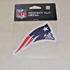 NFL NEW ENGLAND PATRIOTS  4 X 4 DIE-CUT DECAL OFFICIALLY LICENSED PRODUCT