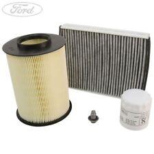 Genuine Ford Mondeo MK5 1.5 Service Kit Oil Air Cabin Filter Spark Plug 2342398