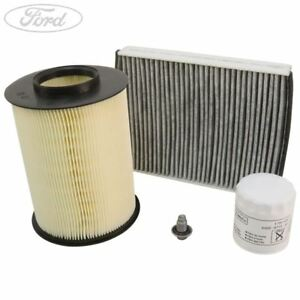 Genuine Ford Focus 1.0 Service Kit Oil Air Cabin Filter 100 125 BHP 2342412