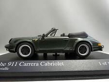1/43 Minichamps Porsche 911 Carrera Cabriolet 1983 Green Metallic 430062035