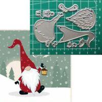 Christmas Santa Claus Cutting Die Stencil DIY Scrapbooking Embossing Paper Card