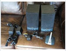 Wireless Speaker System RCA Cat. No 40-5029 Stereo Speakers 900 MHz Batteries