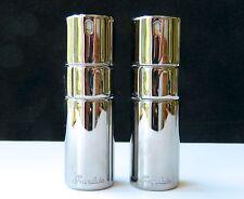 Lot 2 SHALIMAR Guerlain Perfume EDP .68 oz (20 ml) RARE Titanium Purse Sprays