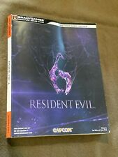 Brady Games Official Strategy Guide Book Signature Series Resident Evil 6 Capcom