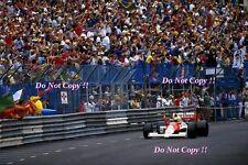 Ayrton Senna McLaren MP4/5B Winner Monaco Grand Prix 1990 Photograph