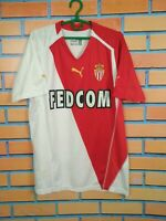 Monaco Jersey 2004 2005 Home LARGE Shirt Puma Football Soccer