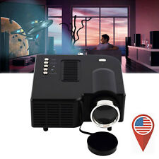 Full HD 1080P Home Theater LED Mini Multimedia Projector Cinema USB TV HDMI UC28