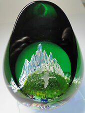 Caithness Home Coming Paperweight 2000 MacIntosh Ltd Ed.